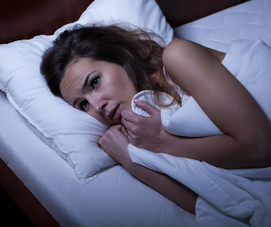 Avoid thinking about work while trying to sleep